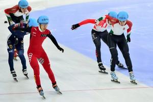 Han Tianyu weet het: hij is de nieuwe wereldkampioen. © Reuters