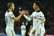Harry Kane en Dele Alli stalen woensdag de show namens Tottenham Hotspur. © AFP