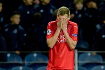 Marc Albrighton van Leicester City baalt. © EPA