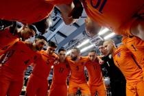 Oranje verloor maandag van Rusland. © Twitter OnsOranje