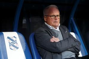 Heerenveen-trainer Foppe de Haan. © Hollandse Hoogte